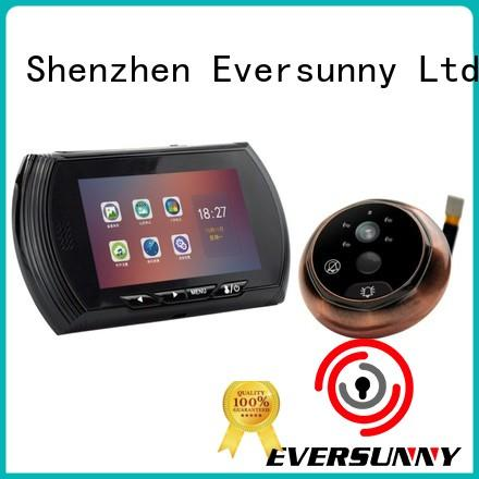 Eversunny electronic door viewer lcd Large angle for apartment