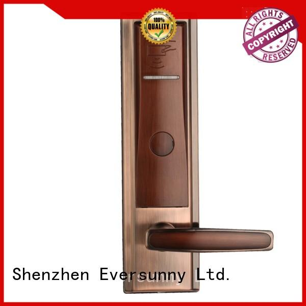 Electronic rfid card lock entry stainless steel for apartment