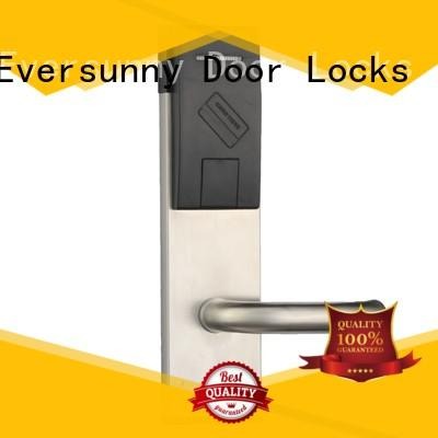 Eversunny stainless rfid card lock stainless steel for apartment