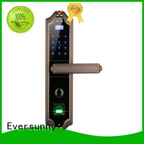 Eversunny finger scan door lock good quality for villa
