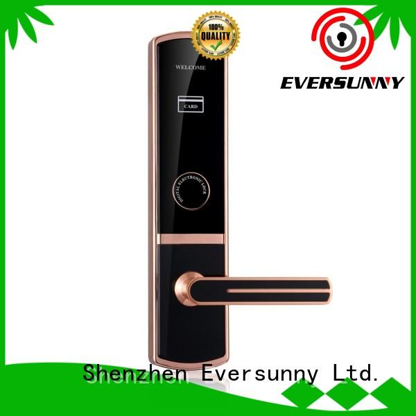 Eversunny Electronic key card door lock for hotels steel for home