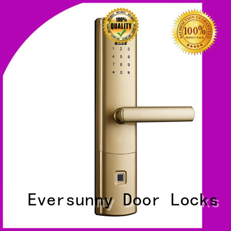safe biometric door lock for villa