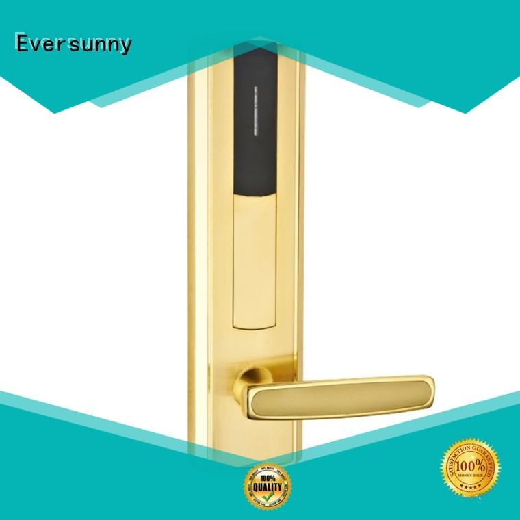 fast card door lock system with central management control system for home
