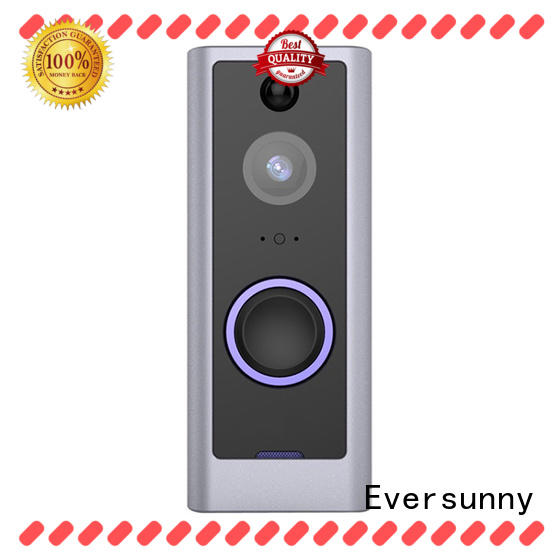 Eversunny wireless video doorbell stainless steel for apartment