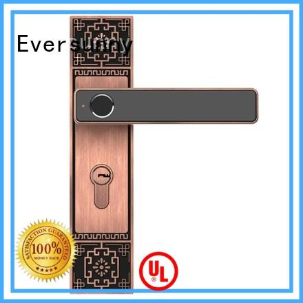 smart biometric finger lock handle