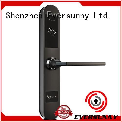 Eversunny safe rfid card lock hotel smart locks for hotel