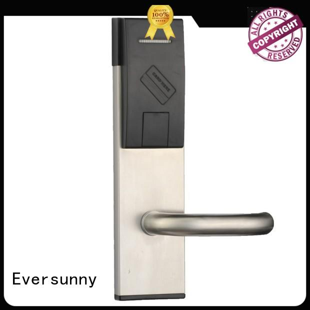 Electronic hotel card lock stainless steel for hotel