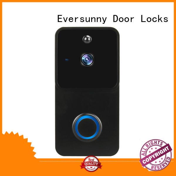 Eversunny ring wireless doorbell hotel smart locks for hotel