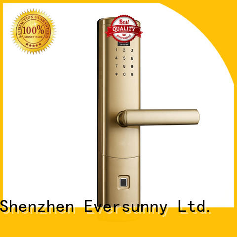 Eversunny top fingerprint lock touch screen for office