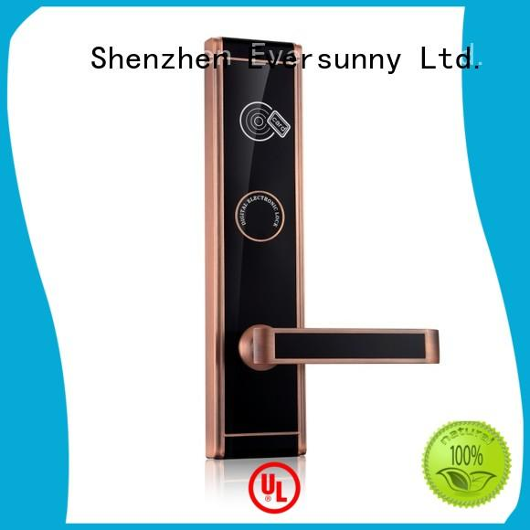 Eversunny practical keycard lock stainless steel for apartment