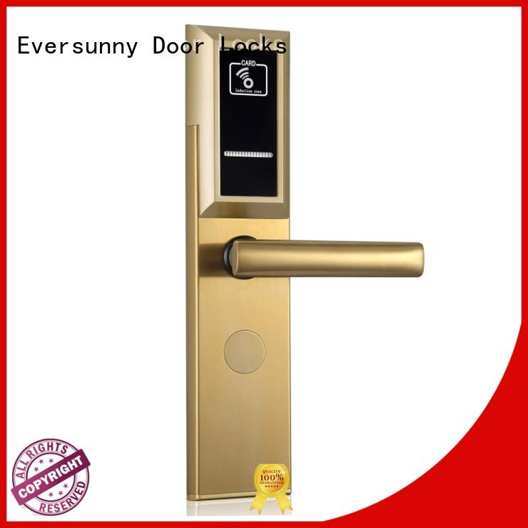 Eversunny electronic card lock system energy-saving for door