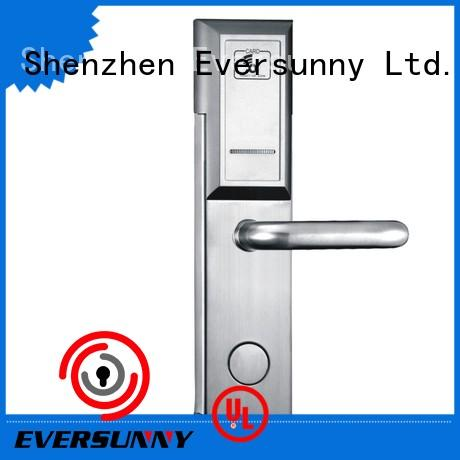 Eversunny safe rfid key cards stainless steel for hotel