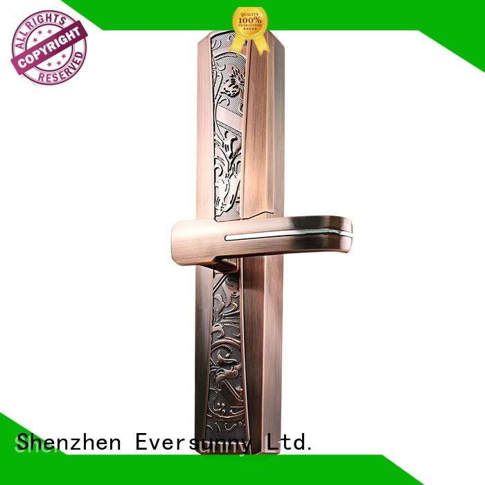 Eversunny direction home lock fingerprint good quality villa