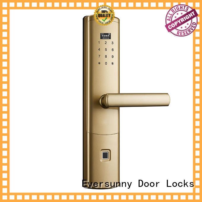 Eversunny superior fingerprint deadbolt handle residence