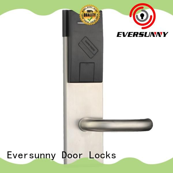 Eversunny fast key card door lock energy-saving for hotel