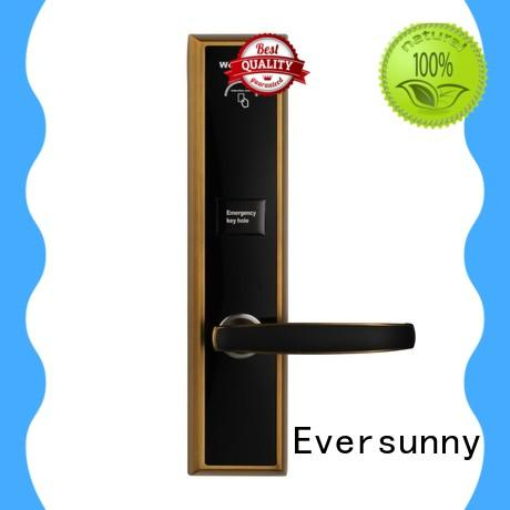 Eversunny practical rfid card door lock system stainless steel for apartment