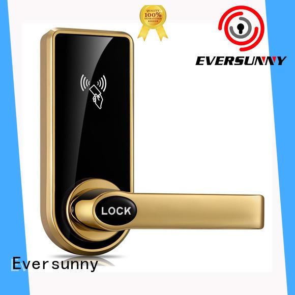 Eversunny card reader door lock international standard for apartment