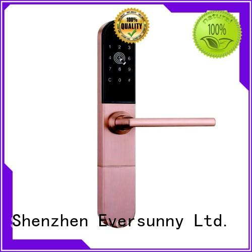Eversunny keyless electronic code lock entry home for door