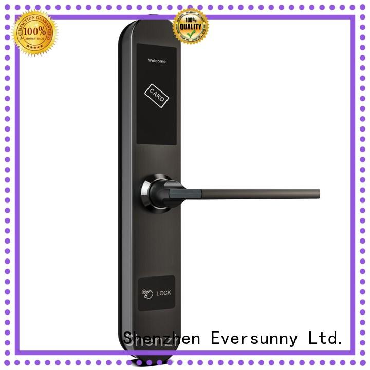 Eversunny key card lock system stainless steel for hotel