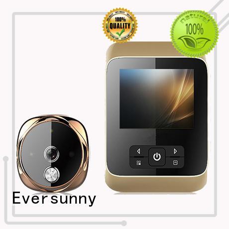 Eversunny digital door viewer with wide angle for sliding door