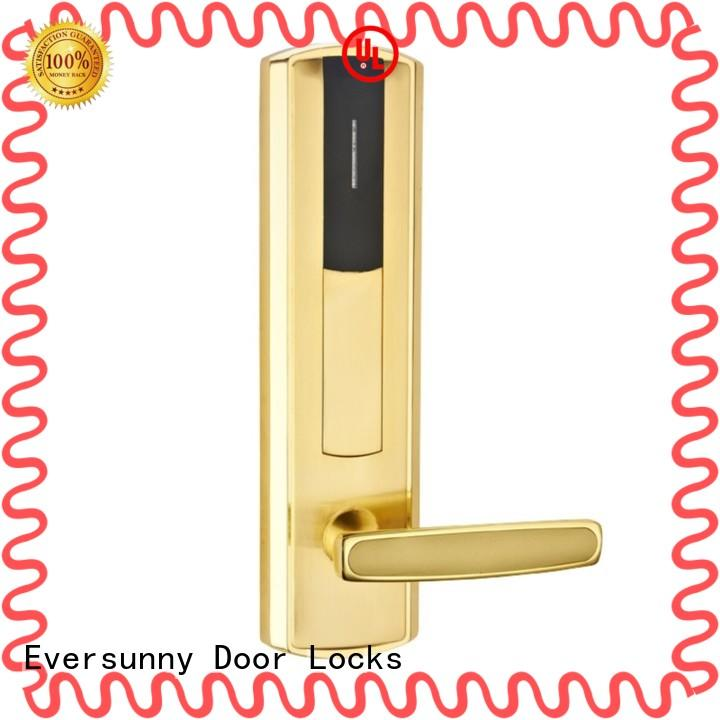 Eversunny smart card access locks stainless steel for door