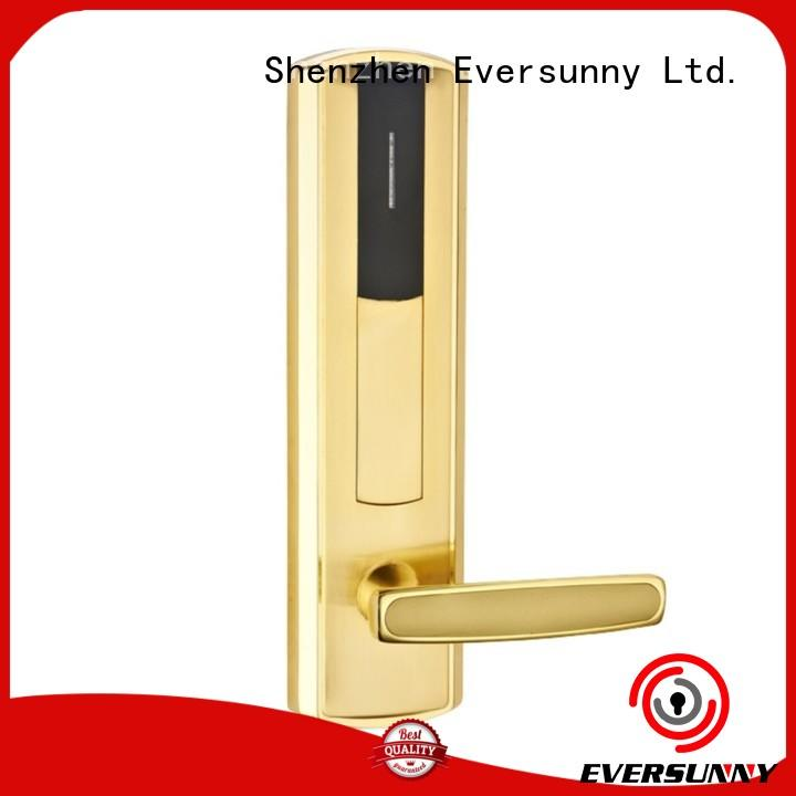 Eversunny Electronic key card access systems cost stainless for apartment
