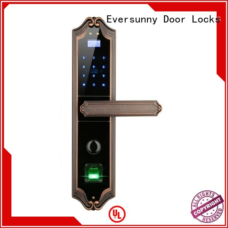 Eversunny home keyless entry deadbolt front door for residence