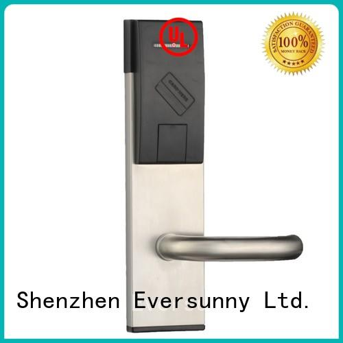 Eversunny Electronic key card entry system stainless steel for door