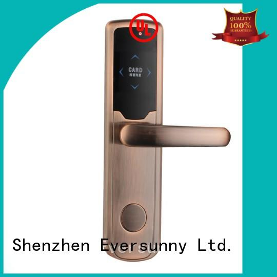 Eversunny reliable smart card door lock international standard for home