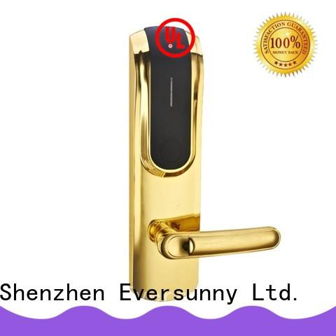 Eversunny apartment door access card system stainless steel for home