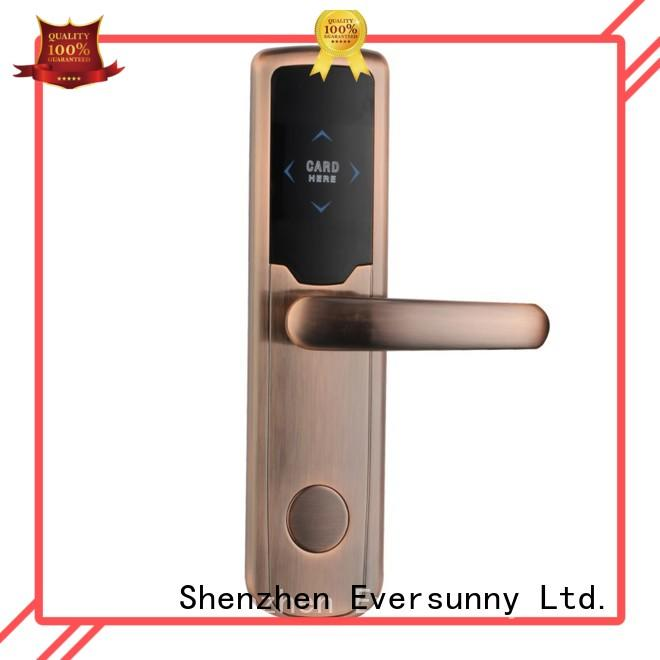safe door key card system stainless steel for home