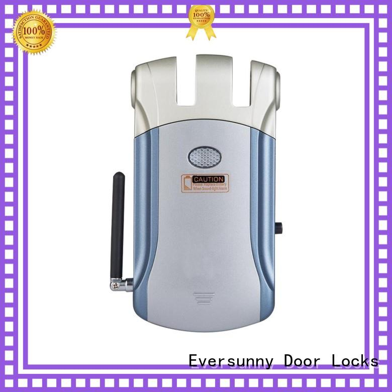 Eversunny invisible concealed door lock system mobile controlled for apartment