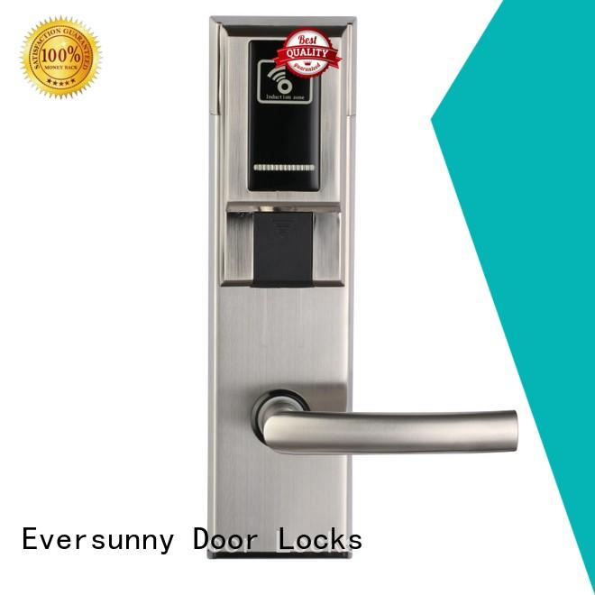 safe card entry door locks with central management control system for hotel