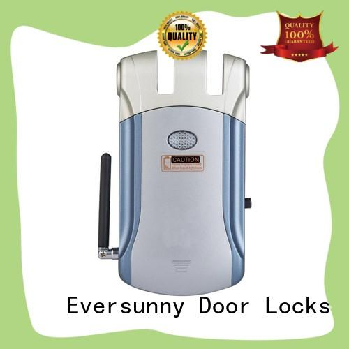 safe electronic door lock with remote control energy-saving for home