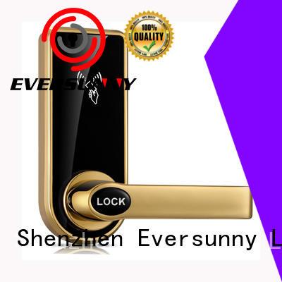 Eversunny safe card access door lock system international standard for door
