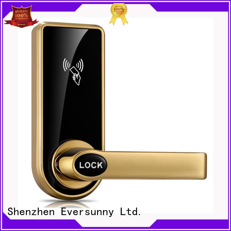 Eversunny card entry door locks international standard for door