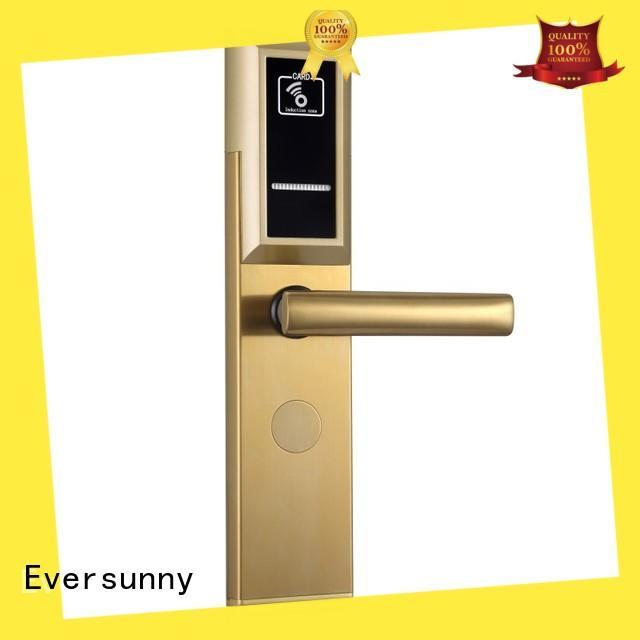 Eversunny convenient key card door lock price energy-saving for home