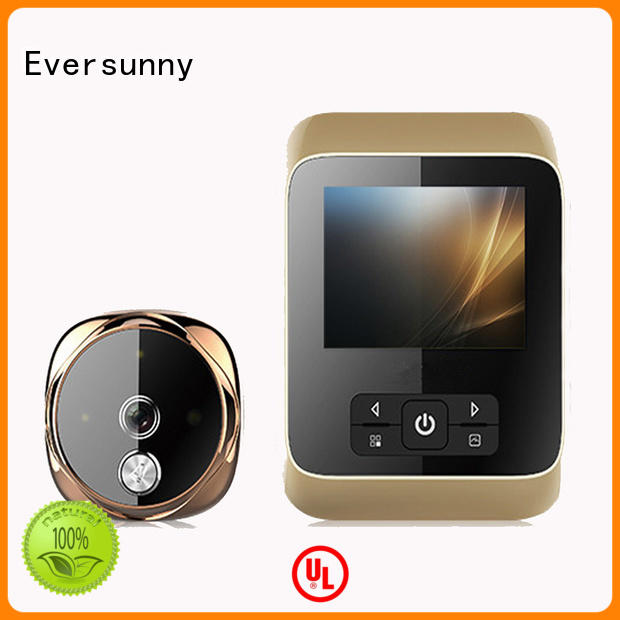 Eversunny convenient digital viewer automatically for Aluminum alloy door