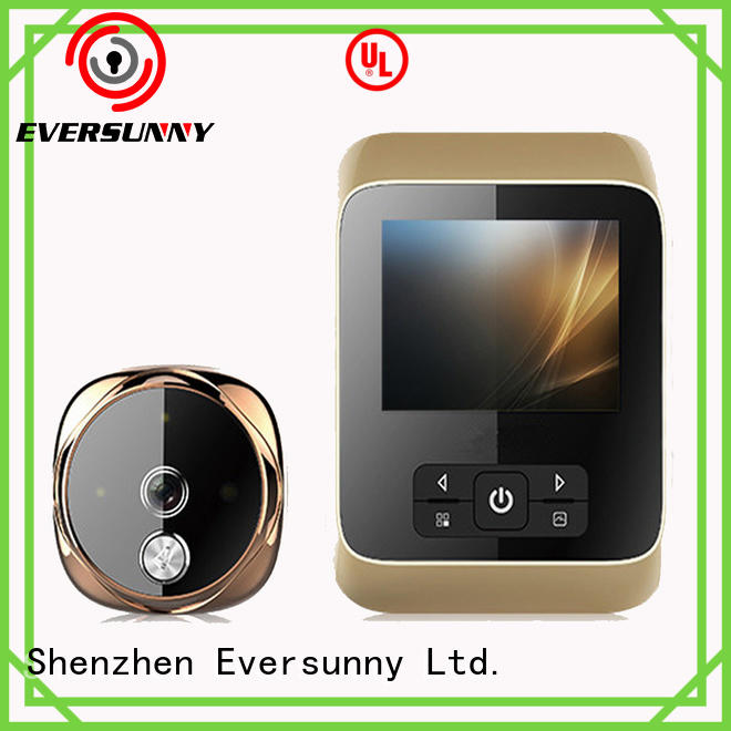 Eversunny doorbell digital door viewer peephole for broken bridge