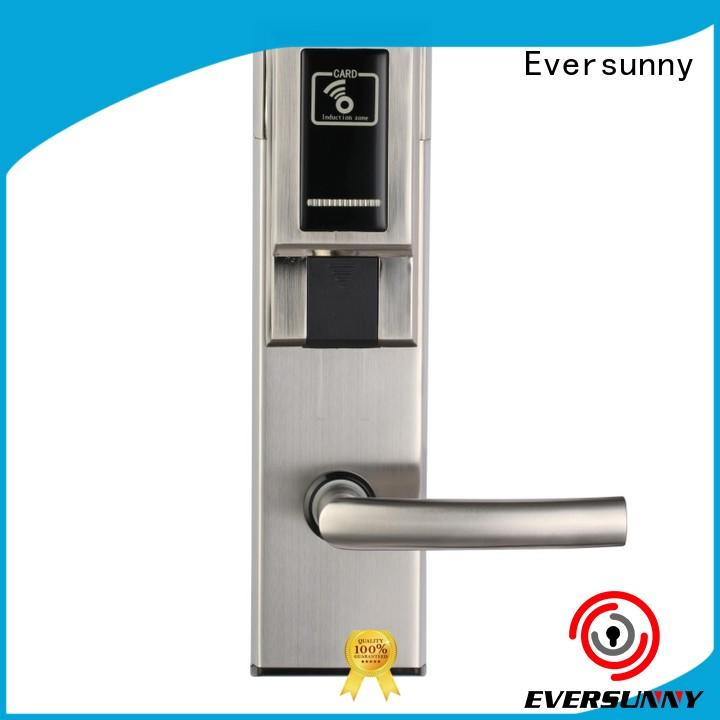 Eversunny electronic door access card system with central management control system for hotel