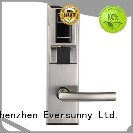 Eversunny reliable electronic card lock system with central management control system for apartment