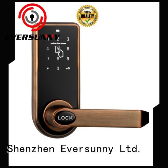 Eversunny keypad punch code door locks smart for hotel