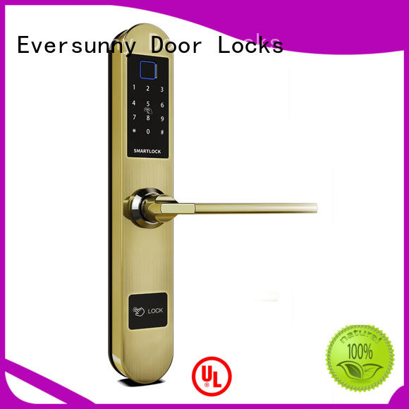 Eversunny keyless front door lock for office
