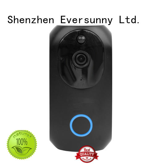 Eversunny practical wireless doorbell system stainless steel for hotel