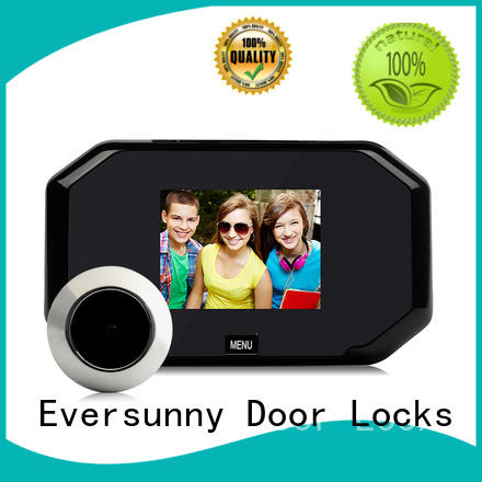 Smart front door eye viewer good quality for cottage