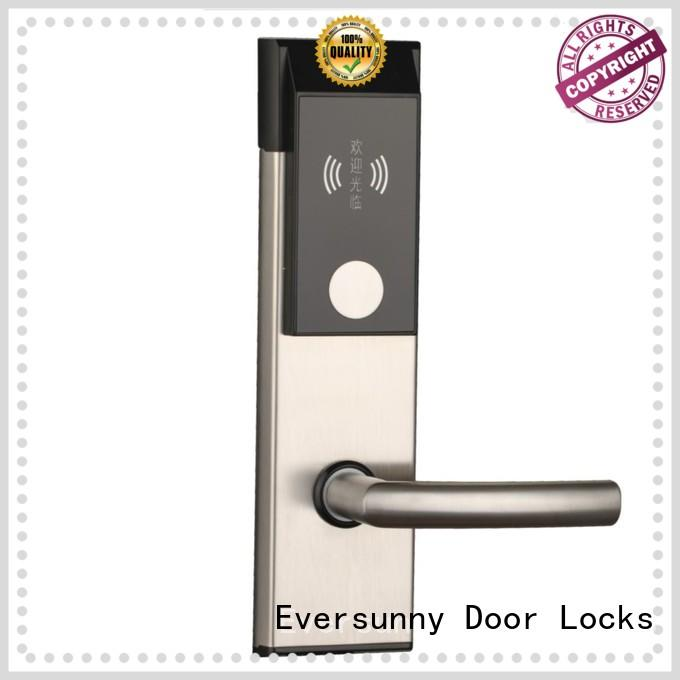Eversunny safe door access card system hotel smart locks for hotel