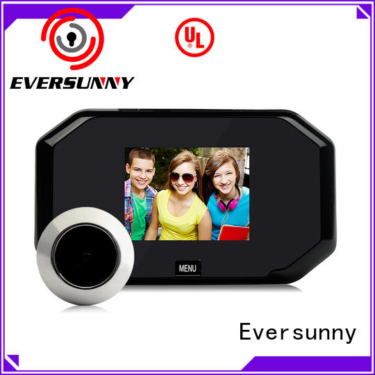 Smart front door viewer inch directly sale for apartment
