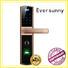 Eversunny intelligent fingerprint door lock screen touch screen villa