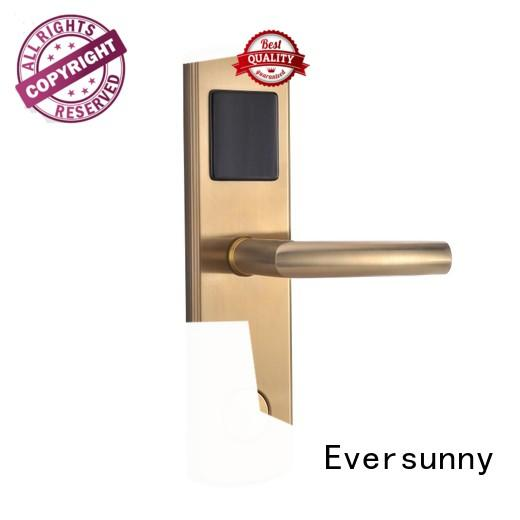 Eversunny smart swipe card door entry systems energy-saving for hotel