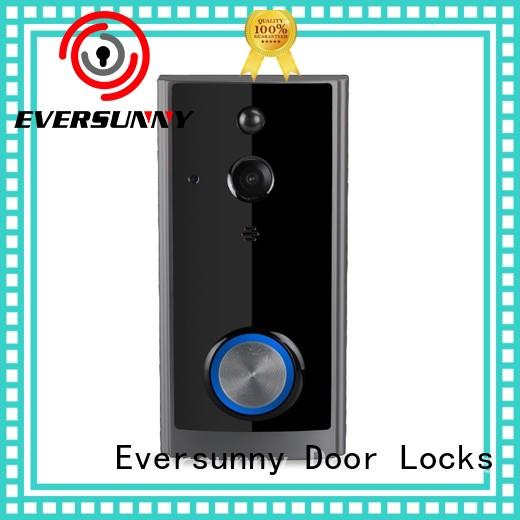 Eversunny wifi smart wifi doorbell hotel smart locks for apartment
